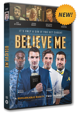 Believe Me DVD - NEW
