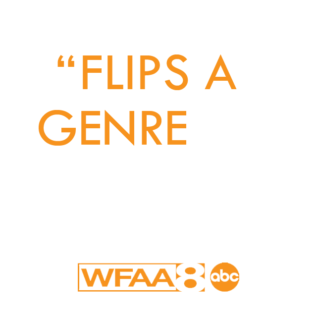 Flips a genre on its head.