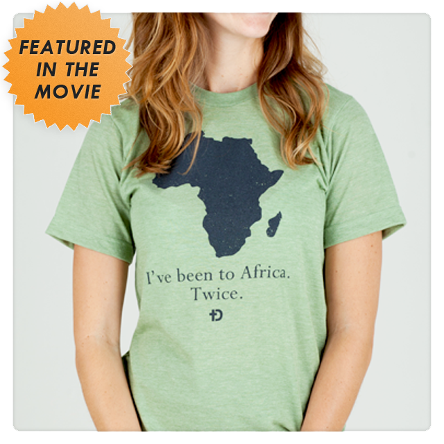 I've Been to Africa Twice Tee Shirt